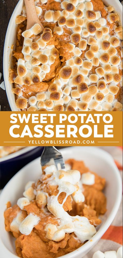 The Best Sweet Potato Casserole Recipe | Thanksgiving Side Dish