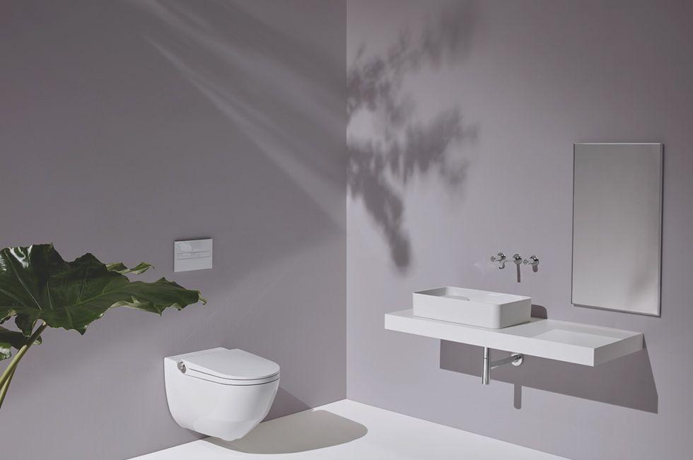 Badkamer Design Award : Het douchetoilet van laufen met een design award op zijn palmares
