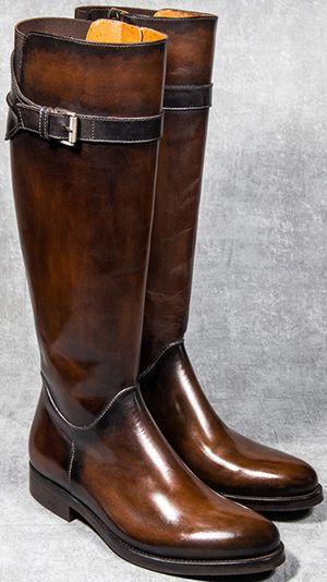 Altan Bottier Paris women's long boots.
