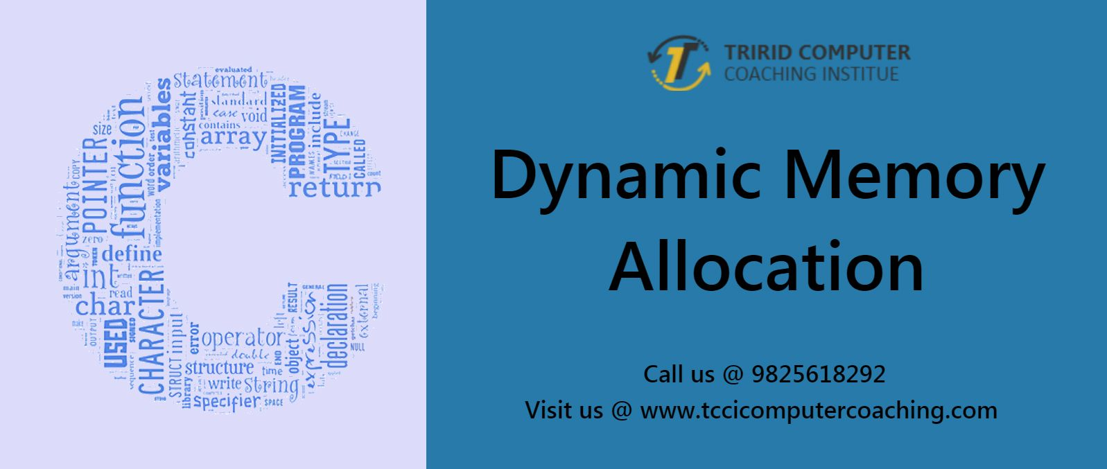 Dynamic Memory Allocation – tccicomputercoaching com