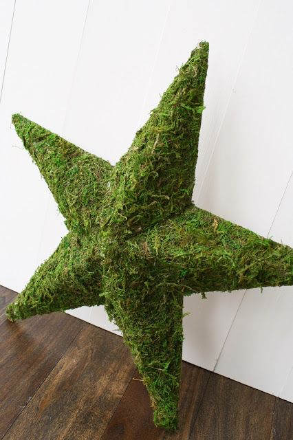 A Diamond in the Stuff: Moss Covered Star