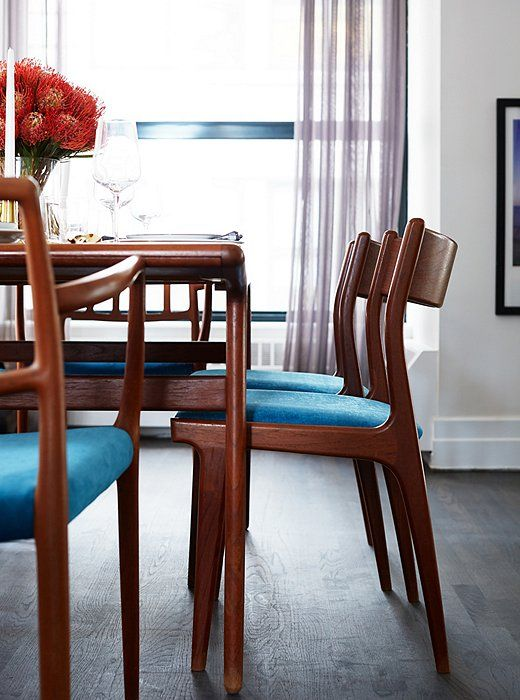 Inside Our Modern Makeover Of Designer Rebecca Minkoffs Apartment Recover Dining ChairsBrooklyn