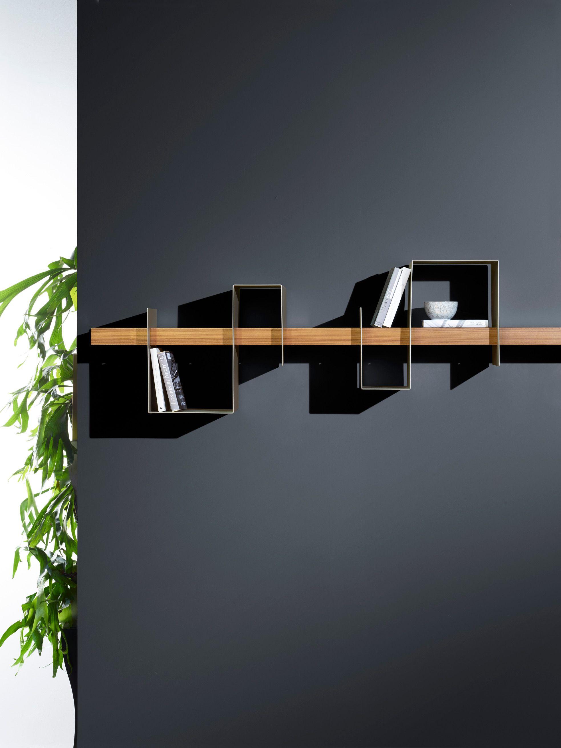 Mensole In Metallo Design.Wooden Shelf Design Furniture Nel 2019 Mensole Metallo