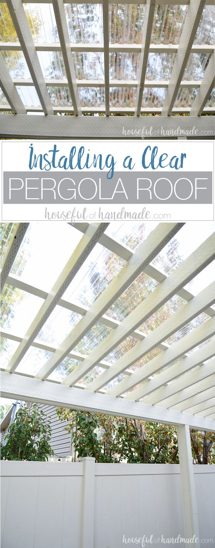 Clear polycarbonate roof and espresso opaque olympic stain home exteriors outdoor living pinterest espresso olympics and pergolas