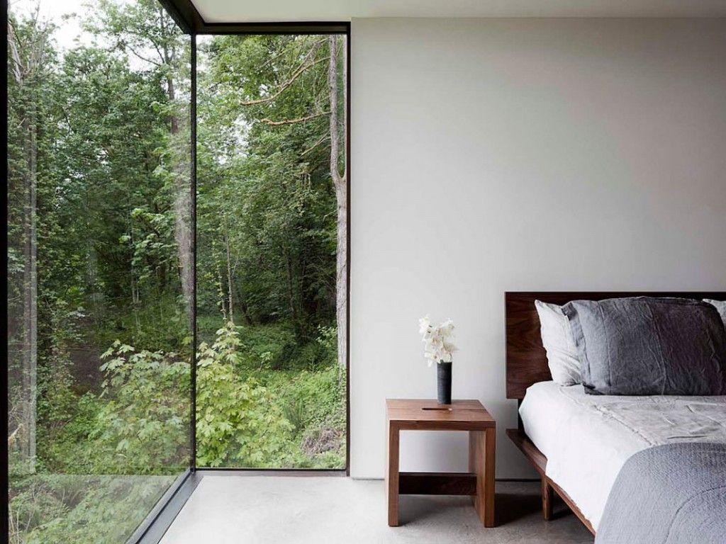 Full Height Corner Window Project Beech Trees Pinterest Open Floor Small Bathroom And