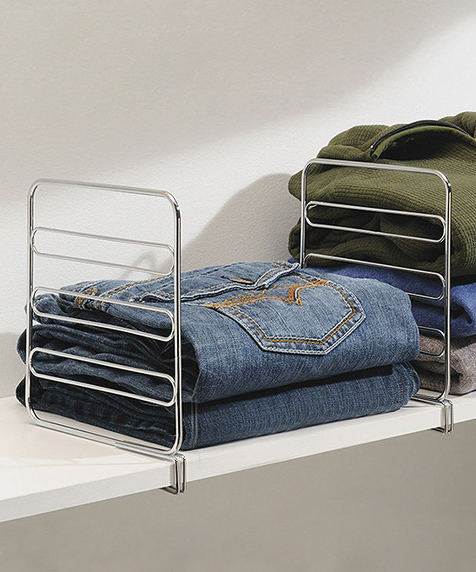 Loving this classico shelf divider set of two on zulily