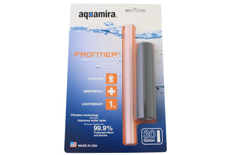 Saveology - $13 for Aquamira Frontier Emergency Water Filter - Shipping Included ($29 Value)