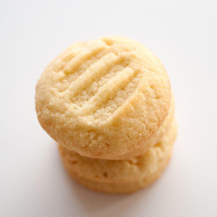 017 Receita de bolachas de manteiga e amêndoa