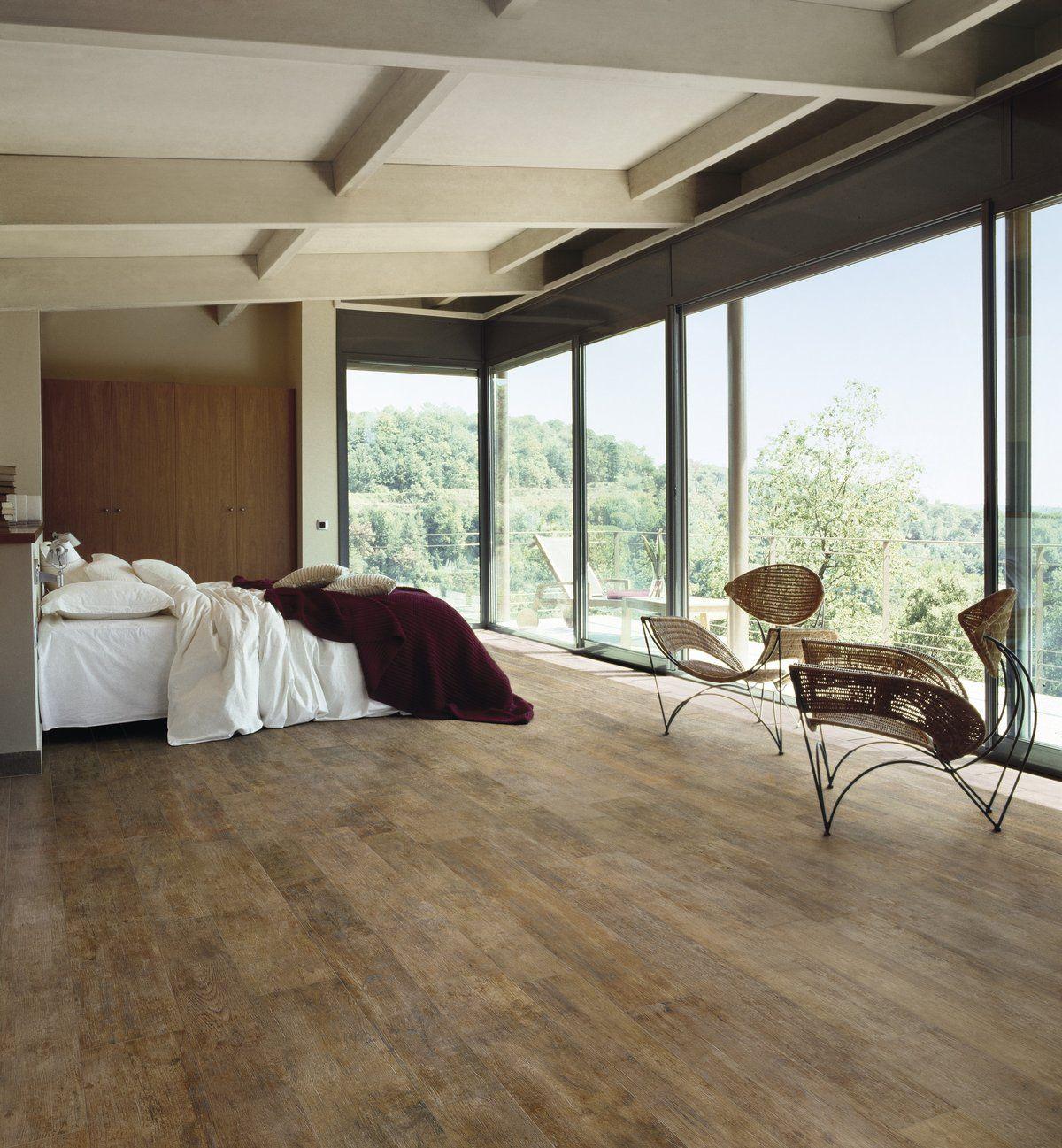 Eurowest Ideen Bodenbelag Bodenfliesen Holzoptik Polierter Beton