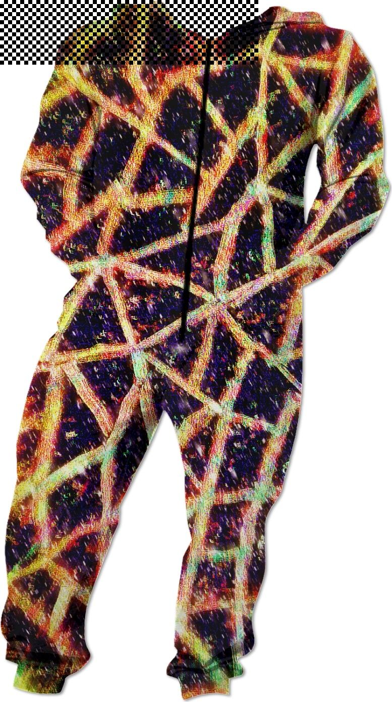 38448a2a9e S4 Galactic Snow Shape Lava Encrusted Custom Onesie with blurry starry  hazey pixeled sleeves in gold