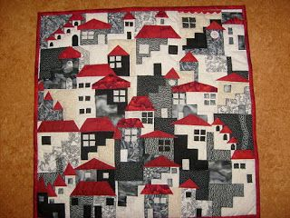 Quilts Van Kippetje.Quilts Van Kippetje En Meer Huisjes All Over The Place