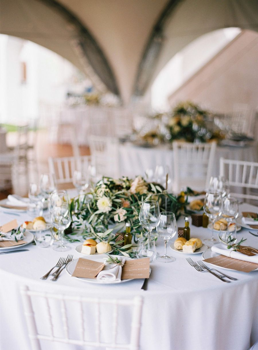 Wedding dress centerpiece  Come for the Custom Gown Stay For the Italian Views  Lake garda