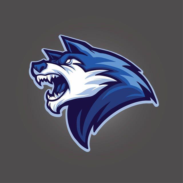 Wolf Head Blue