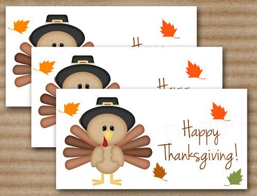photo regarding Free Printable Bag Toppers Templates referred to as Thanksgiving Handle Bag Topper, Turkey Address Bag Topper