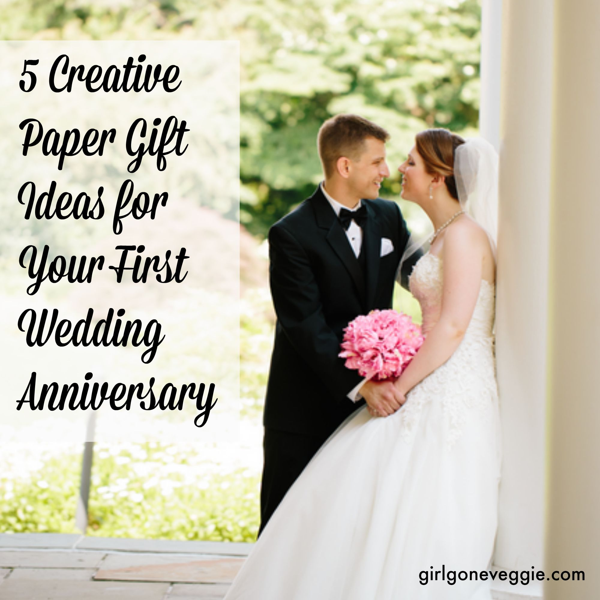 If You Re Looking For Creative Paper Gift Ideas Your 1st Wedding Anniversary Check Out These 5 Fun