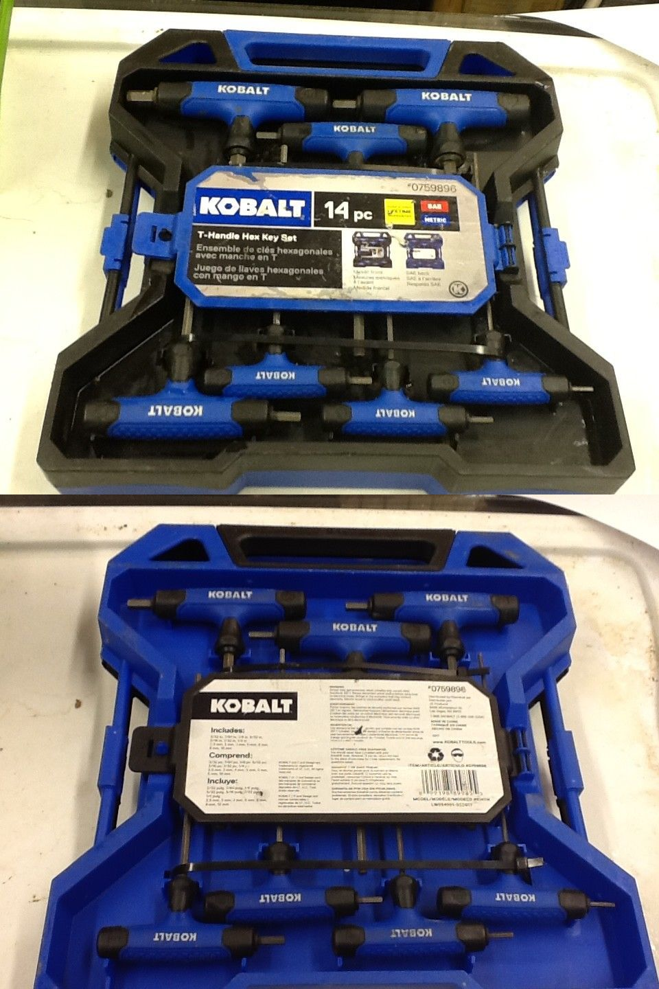 Hex Keys And Wrenches 42258 Kobalt 14 Piece T Handle Hex Key Set Buy It Now Only 31 99 On Ebay Wrenches Kobalt Piece Hex Key Hex Ebay