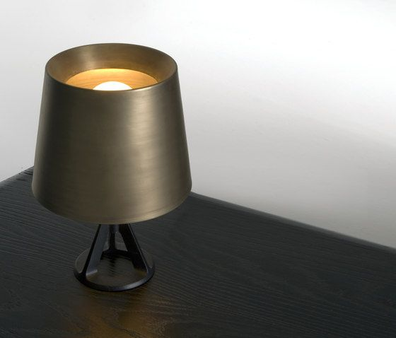 Base brass table light tom dixon google search