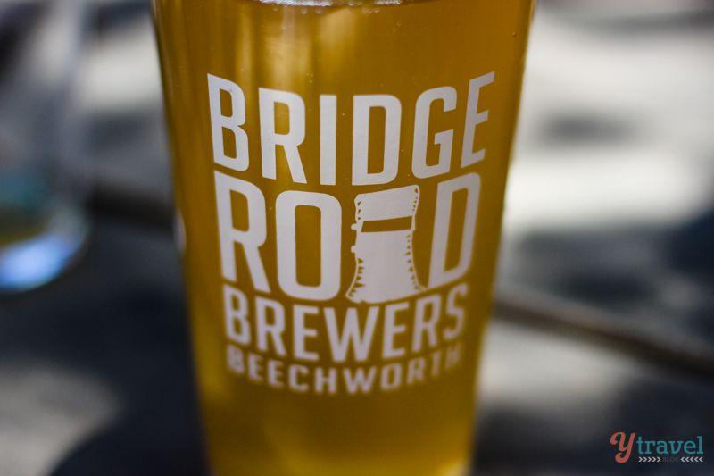 1 only BRIDGE ROAD BREWING,Beechworth Victoria Issue BEER COASTER