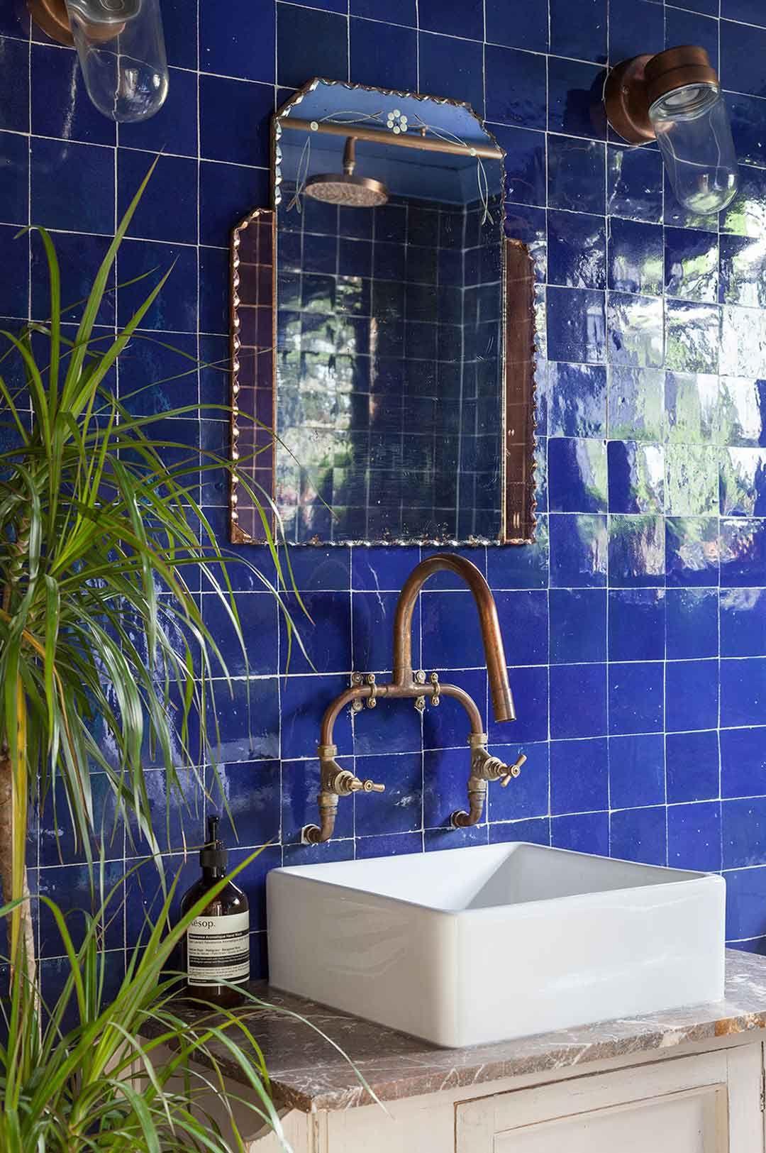 Projets Et Chantiers En Zellige Mosaic Del Sur Idee Salle De Bain Deco Salle D Eau Salle De Bain Marocaine