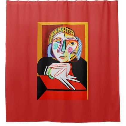 Merveilleux Picasso Shower Curtains