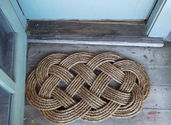 Nautical Rope Doormat Rope Rug Nautical Rugs Decor