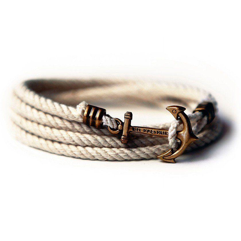 Atlantic Whalers Lanyard Hitch Rope Bracelet By Kiel James Patrick
