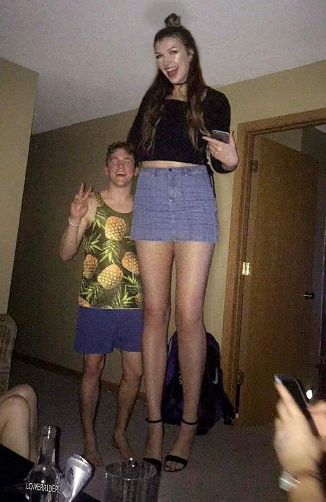 Women very legs porn tall think, that you