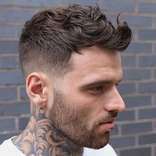 30 Best Men S Fade Haircut Styles 2020 Guide Wavy Hair Men Mens Haircuts Short Mens Haircuts Fade