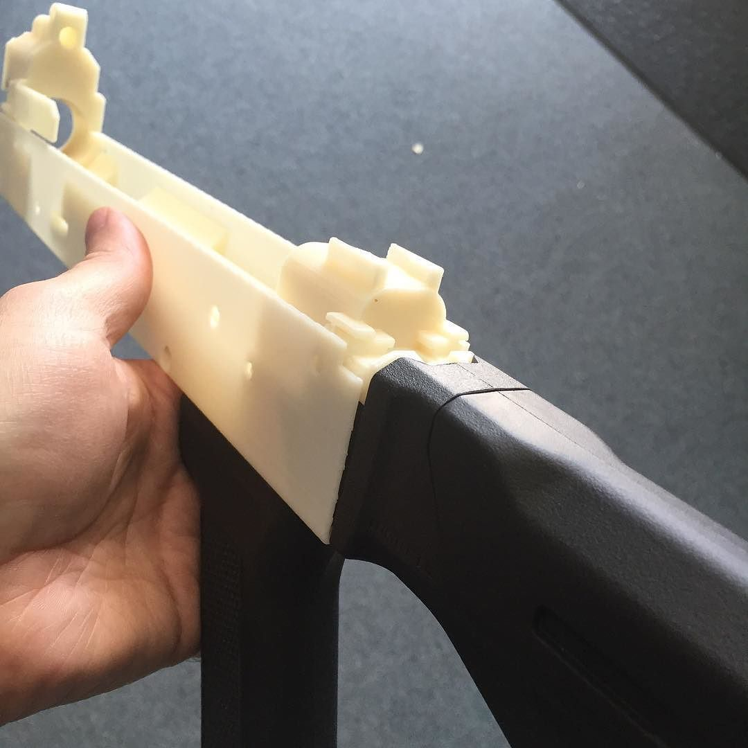 Fruits of my labor--magpul stock fit perfectly on the 3D