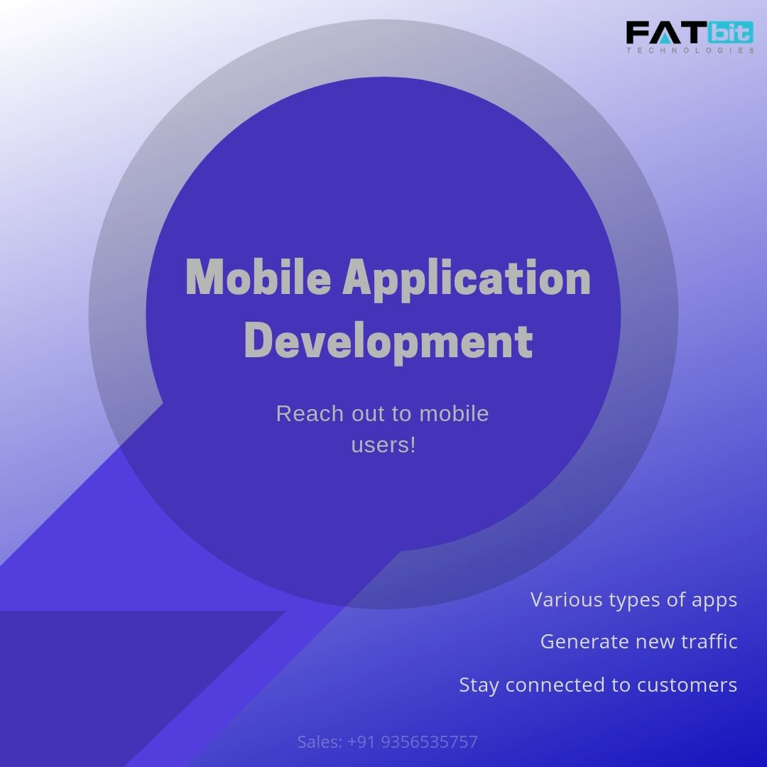 Mobile app development indeed nowadays necessary for all