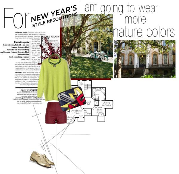 """Nature colors for my new year"" by s-thinks ❤ liked on Polyvore"