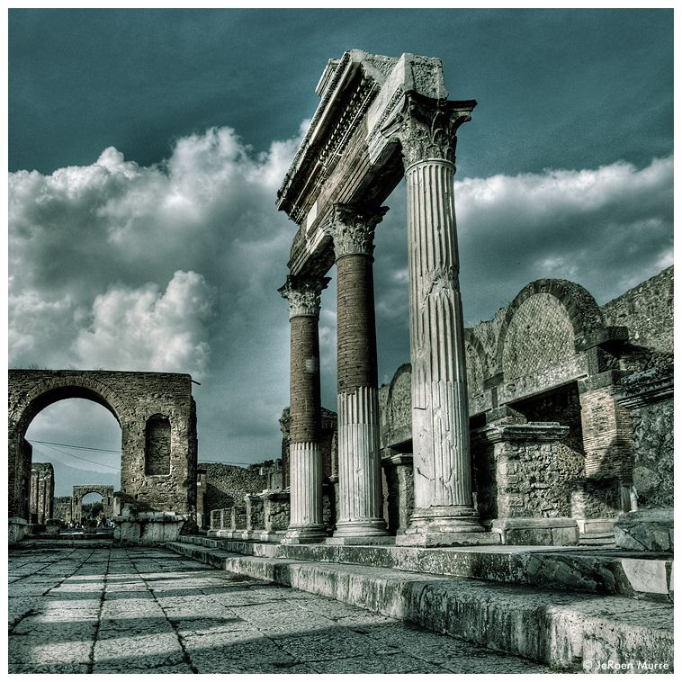 """Glory in ruins"" Pompei, Italy"