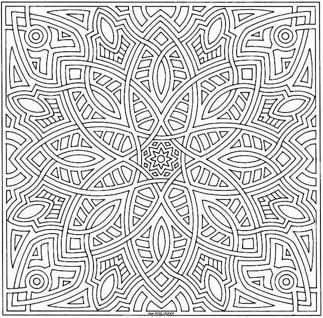 Zen Mandalas Coloring Book : Look like a mola pattern zen tangles pinterest patterns and