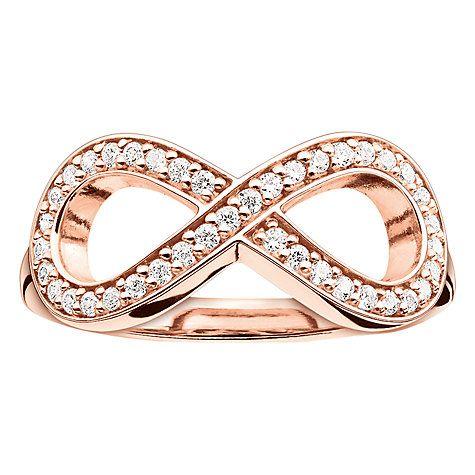 Thomas Sabo Glam Soul Infinity Ring Rose Gold Rose Gold Infinity Ring Rose Gold Jewelry Rose Gold