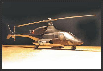 airwolf helicopter free paper model download modele pinterest modelleisenbahn flugzeug i. Black Bedroom Furniture Sets. Home Design Ideas