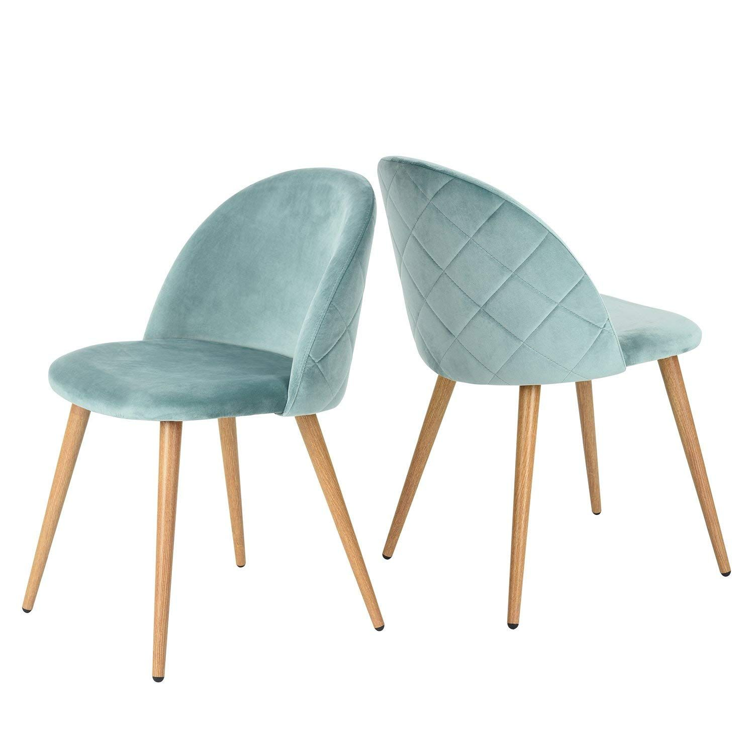 P N Homewares Moda Dining Chair Plastic Wood Retro Dining Chairs