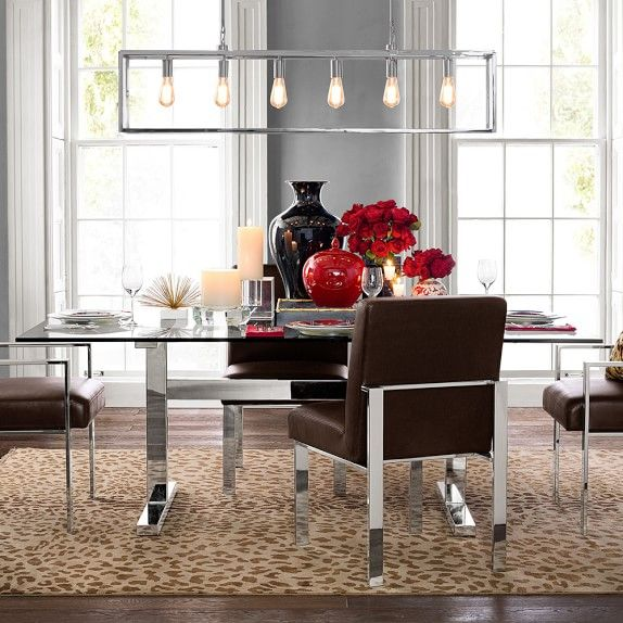 Room · mercer dining table williams sonoma