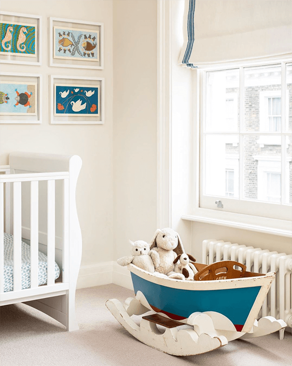 A Nursery By Amelia Mcneil Interior Design Is Set To Welcome A