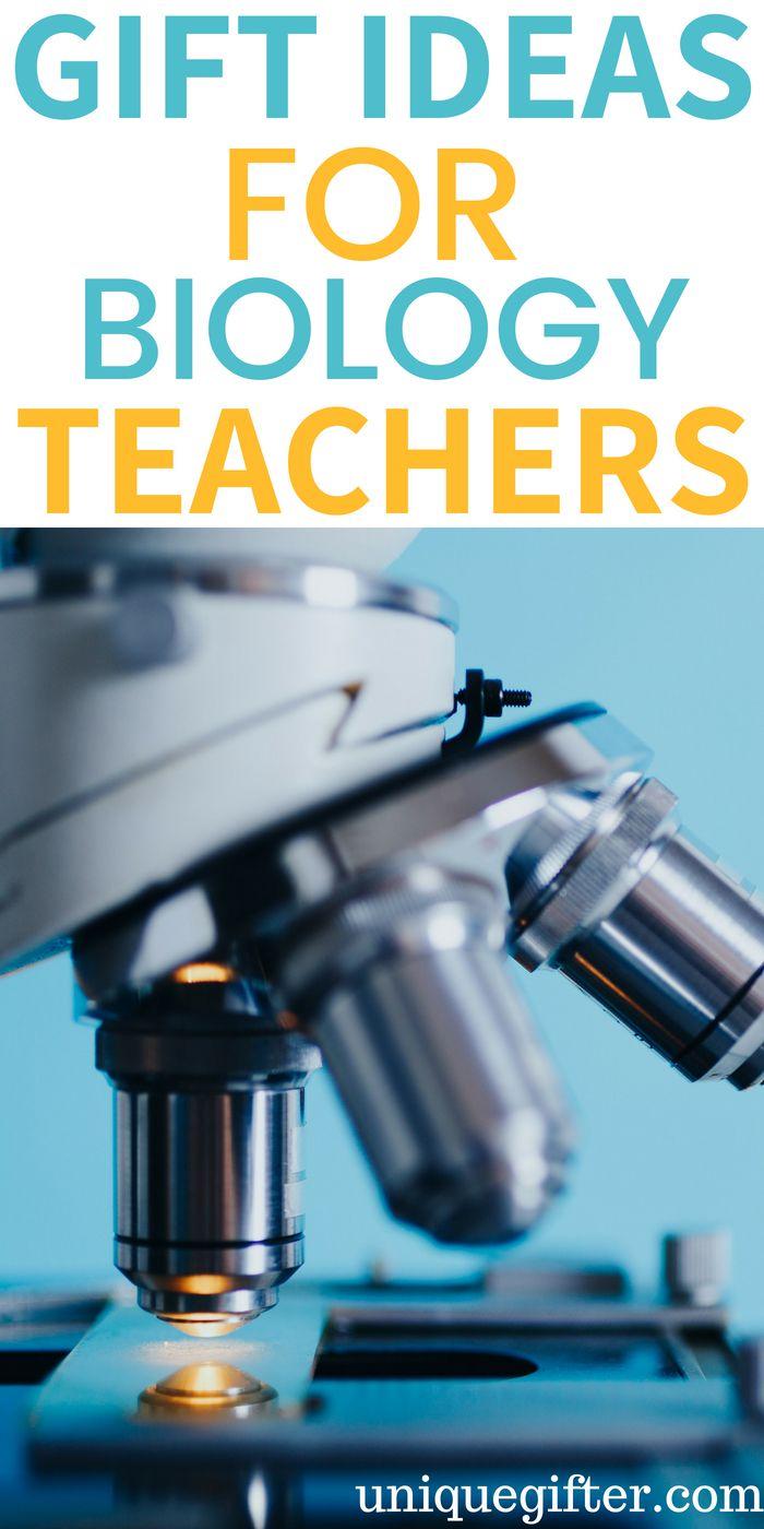 Gift Ideas for Biology Teachers | Biology teacher ...