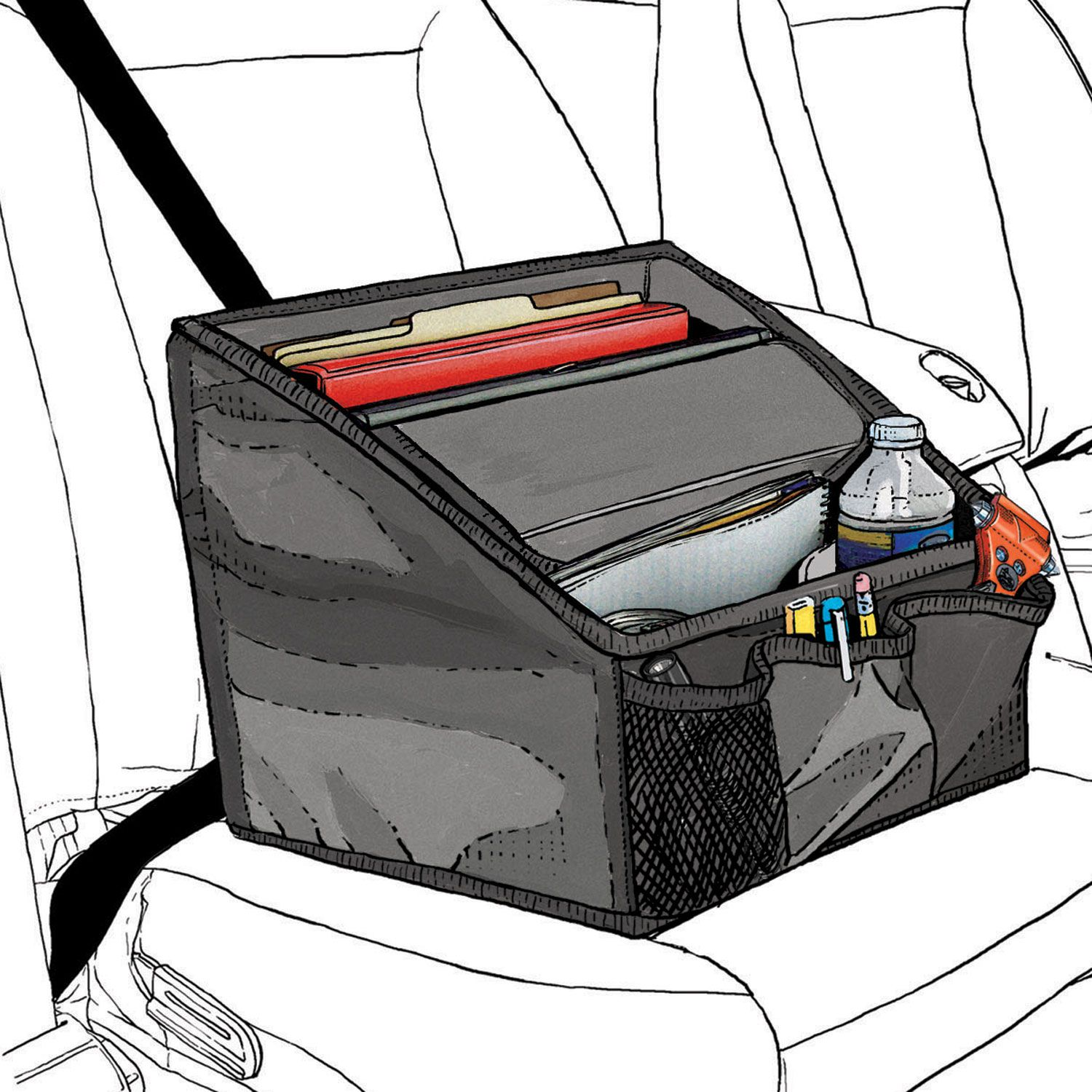 Want This Mobile Organizer For My Work Truck Has Everything