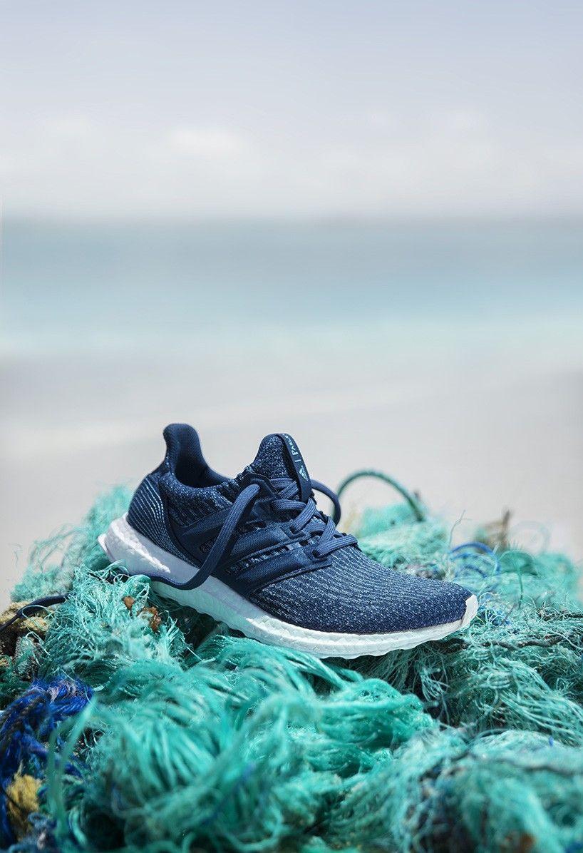 adidas X parley recycle ocean plastic