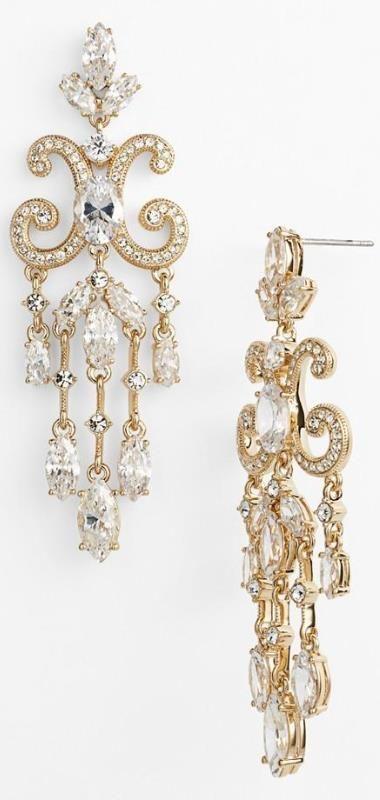 Nadri Chandelier Earrings Nordstrom Vintage Wedding Jewelry Wedding Jewelry Jewelry