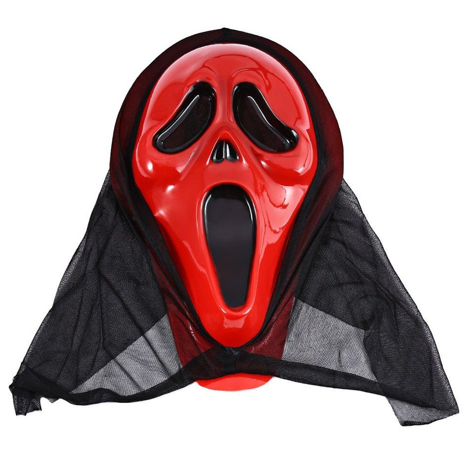 Crazy Halloween Bloody Screaming Party Dressed Skull Mask ...