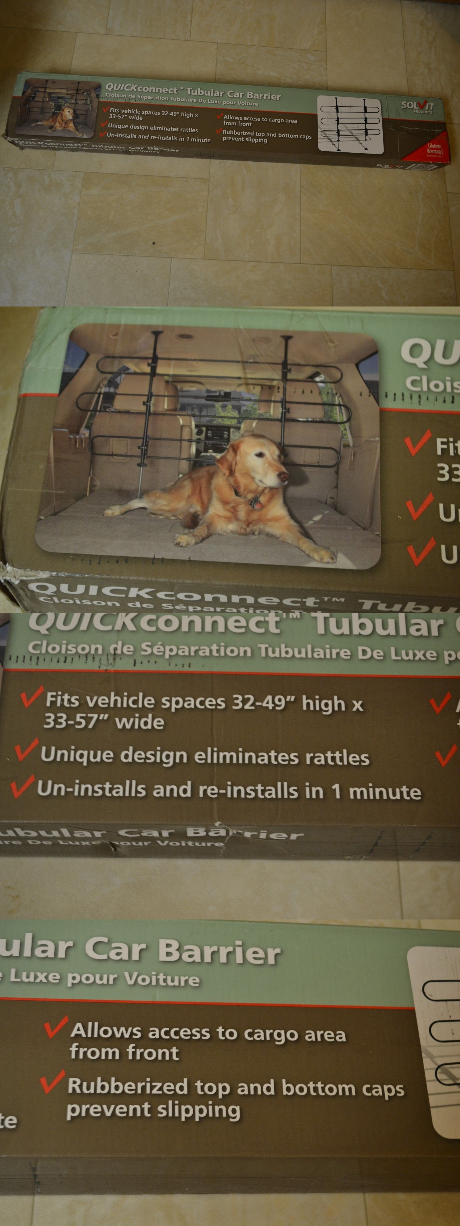 Car seats and barriers solvit new quick connect