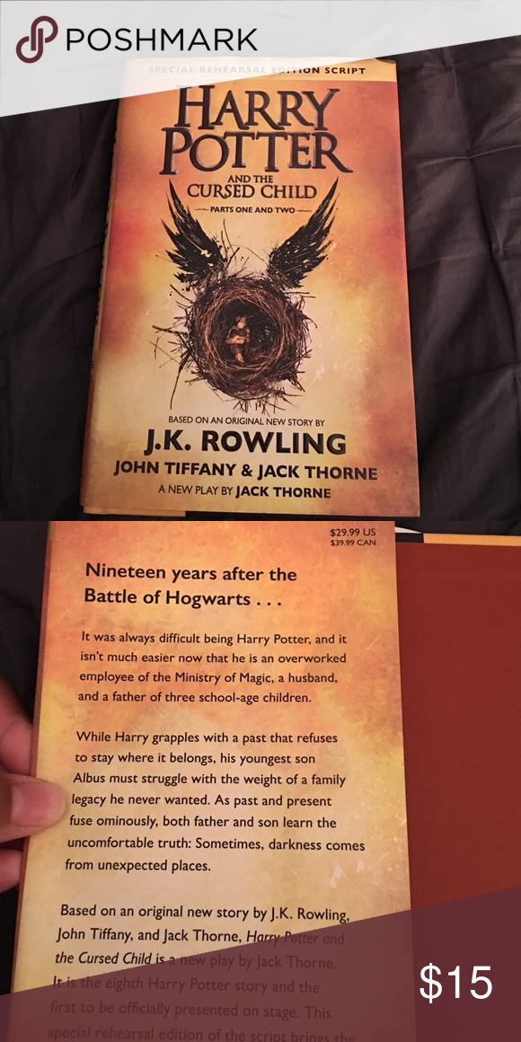 Harry Potter And The Cursed Child Book Cursed Child Book Cursed Child Potter