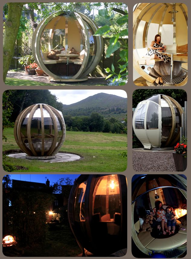 Rotating Sphere Lounger From Ornategarden That S Great For The