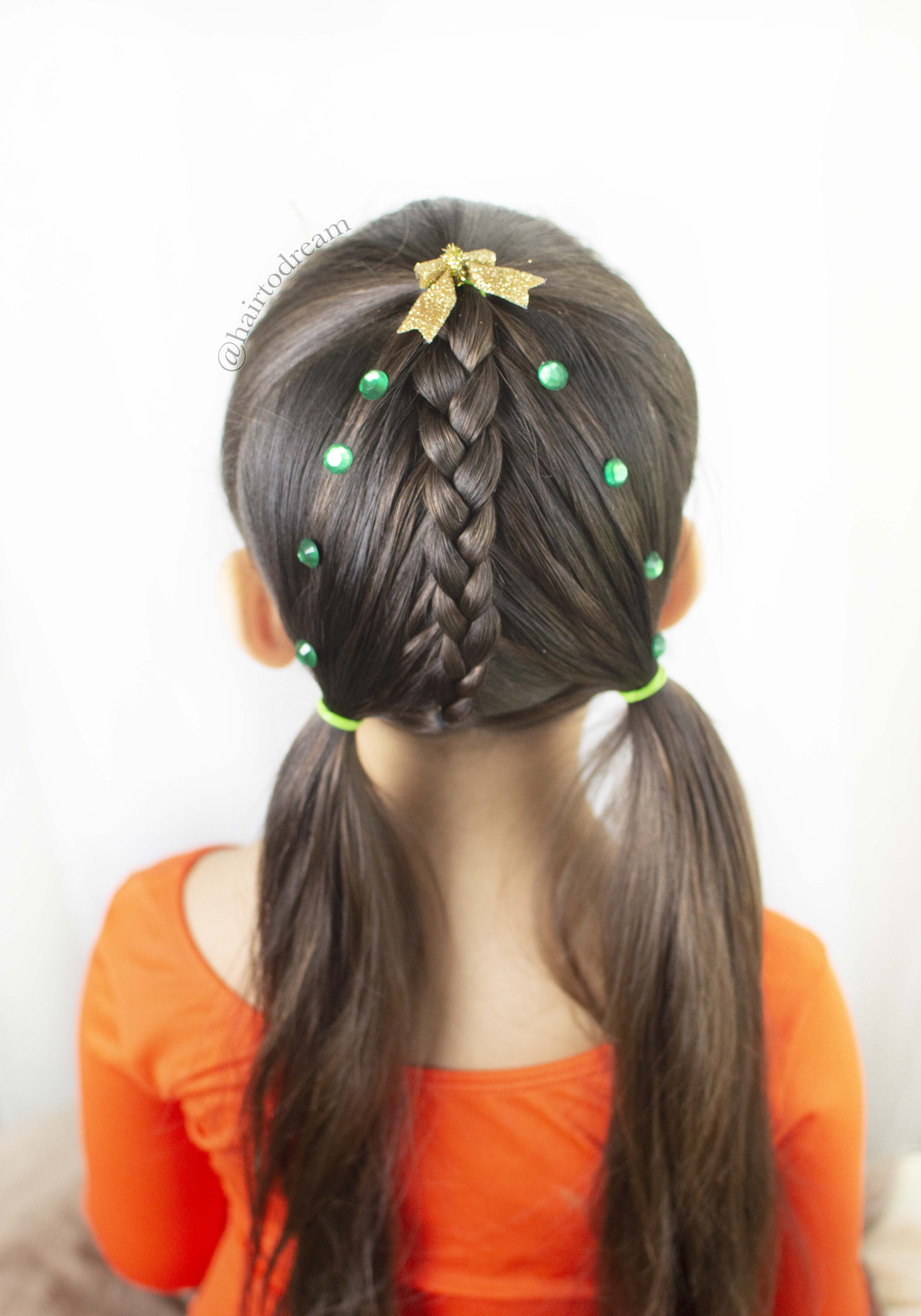 Cute Christmas Hairstyle For Girls Short Hair Styles Easy Girl Hairstyles Hair Styles