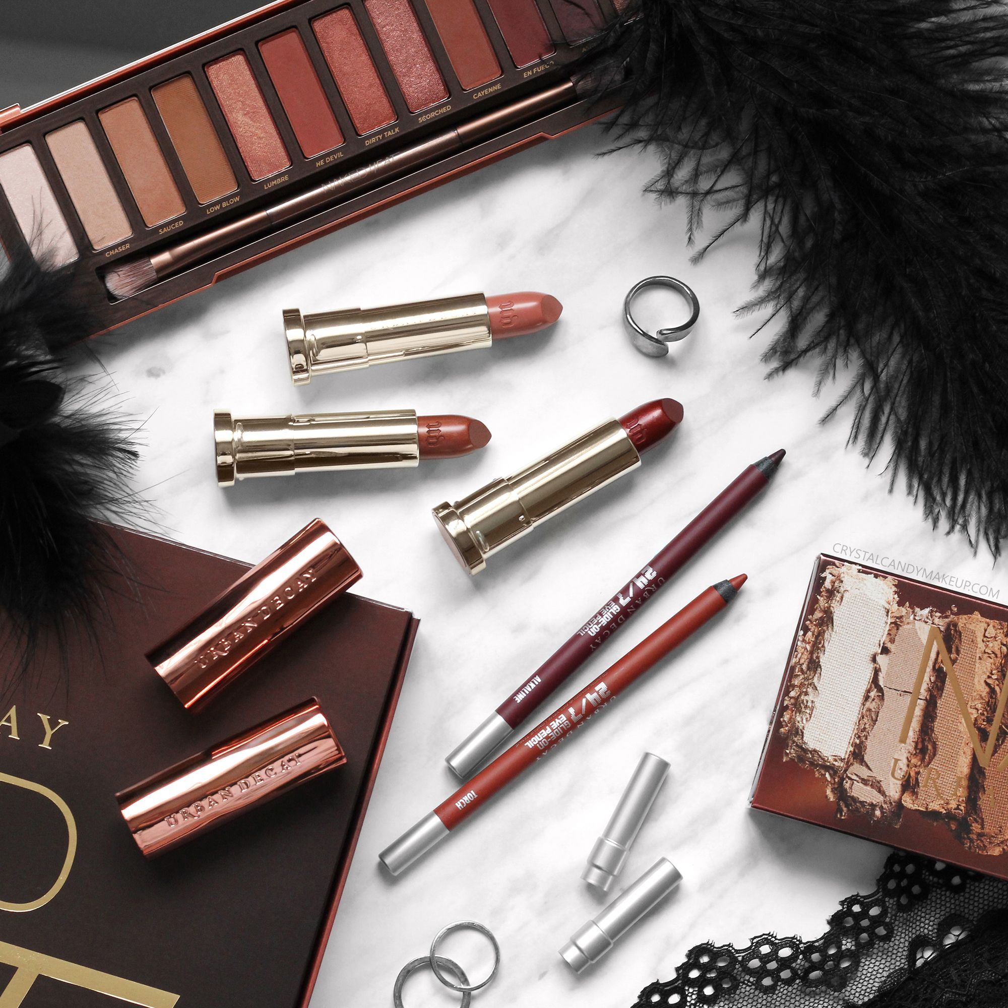 Urban Decay Naked Heat collection, review and swatches