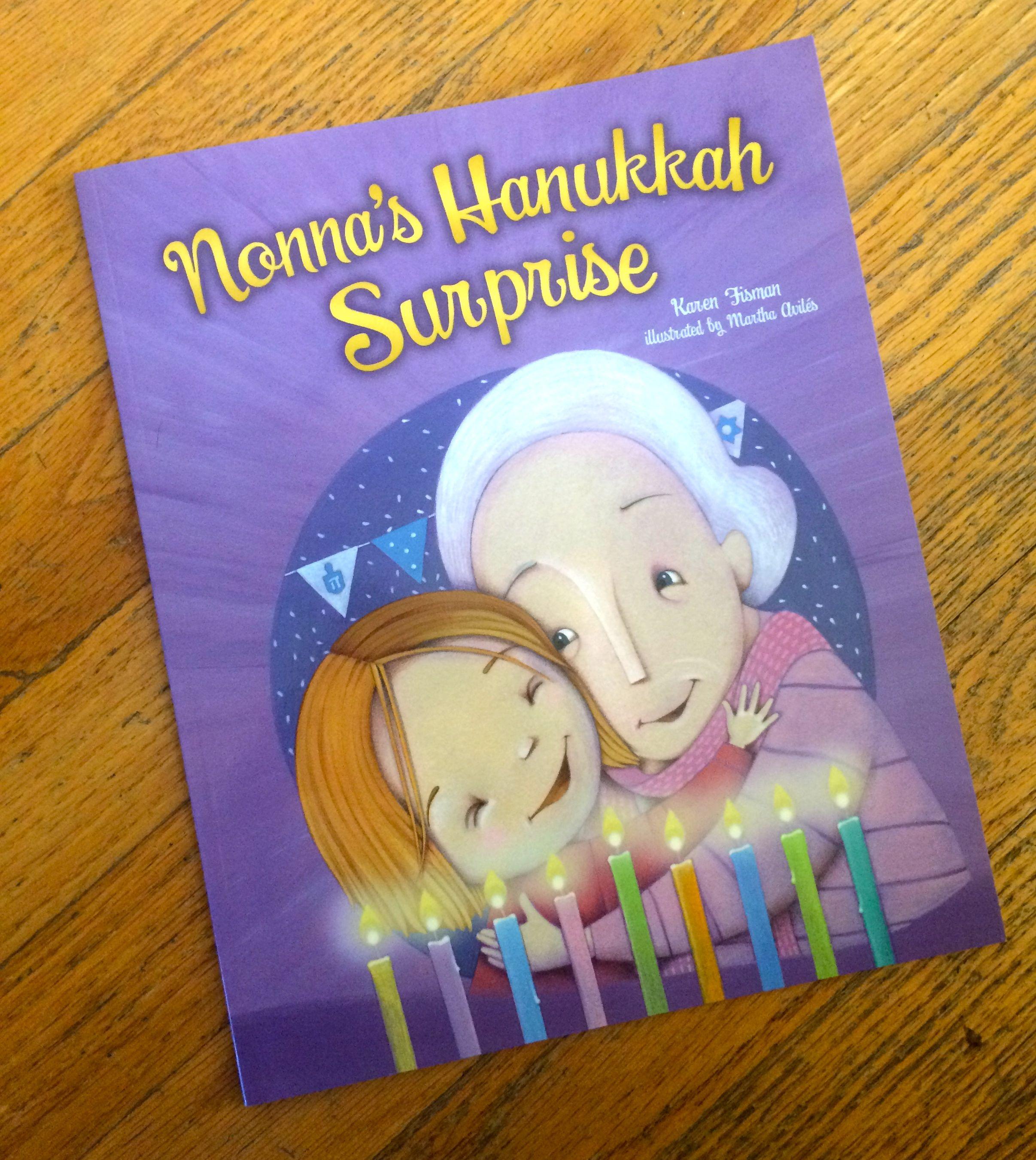 Books for interfaith children at Hanukkah and Christmas. Nonna's Hanukkah Surprise.