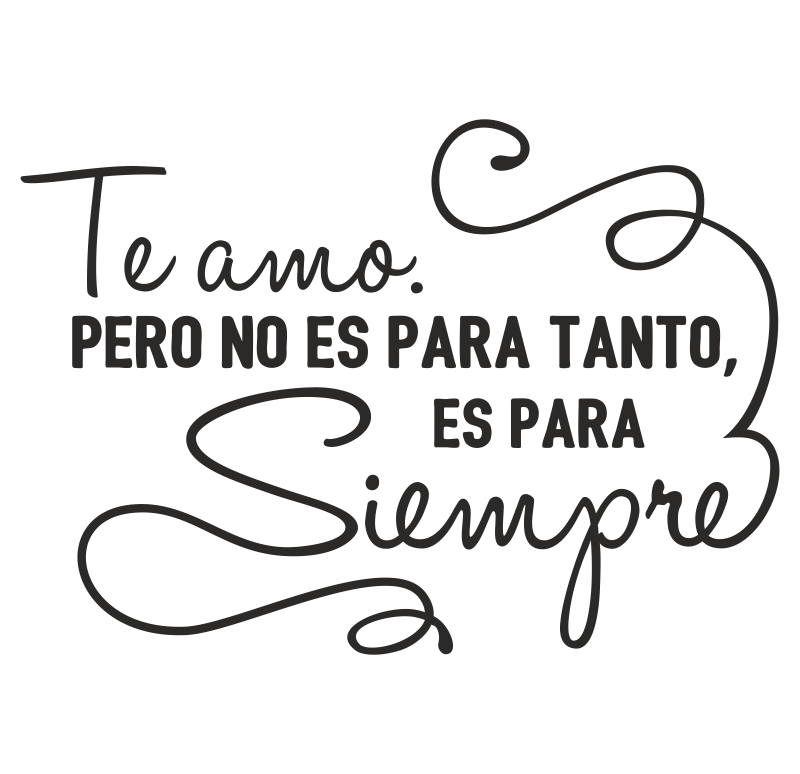 Te Amo Quotes Amusing Te Amo Para Siempre  Frases Y Poemas  Pinterest  Frases Thoughts . Design Inspiration